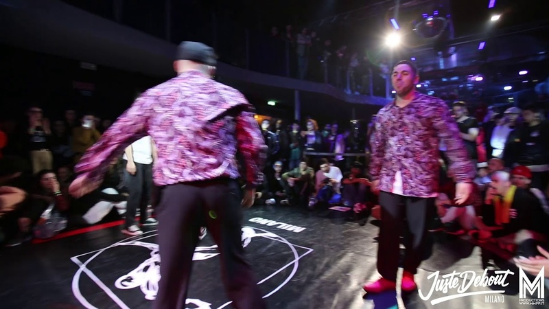 JUSTE DEBOUT ITALY 2019 POPPING FINAL
