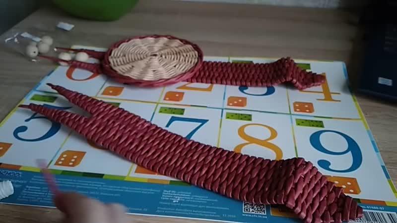Улитка салфетница конфетница Розга на горизонтальной форме