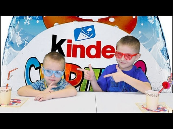 Открываем КИНДЕРЫ Chupa Chups Open KINDER Детям For kids