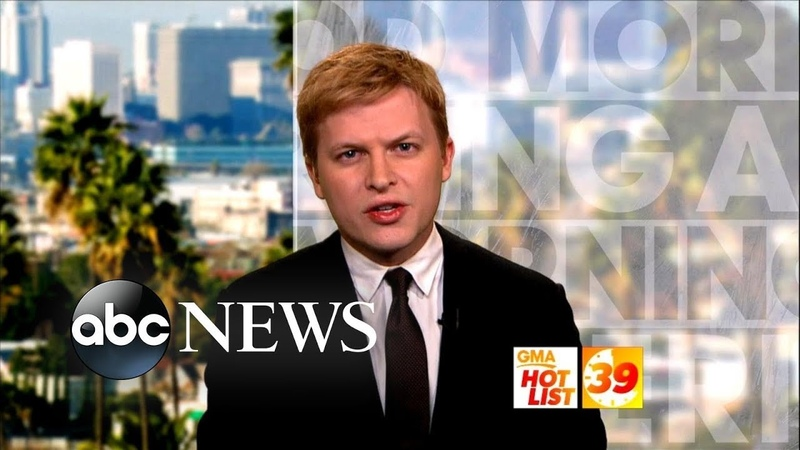 'GMA' Hot List Ronan Farrow discusses his reporting on 2nd Kavanaugh accuser