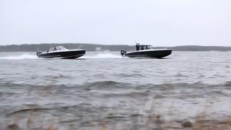 Финские алюминиевые катера XO 240 и XO 220 Boats