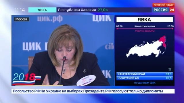 Новости на Россия 24 • Памфилова рассказала о кибератаке из 15 стран и нарушениях