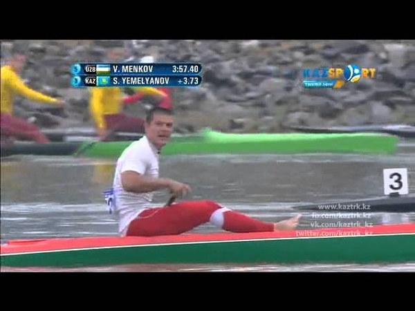 Asian Games Incheon 2014. Canoe Sprint.C-1 1000 m. Men Final.