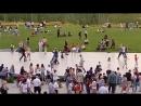 Танцы в парке Зарядье, Москва.