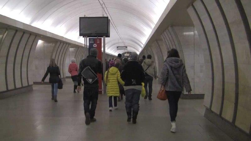 Сбой в движении поездов произошел на участке Серпуховско-Тимирязевской линии