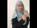 шарф пришитый к боне готовый хиджаб