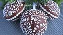 Новогодние пряники. Пряничные новогодние шары