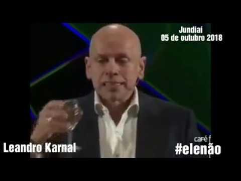LEANDRO KARNAL EXPLICA PORQUE REJEITA BOLSONARO!!