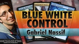 Blue-White Control - Modern | Channel Nassif