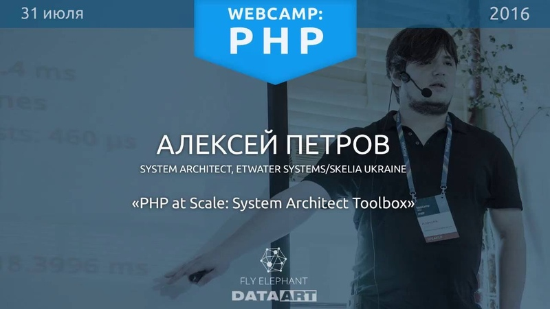 PHP_Алексей Петров_PHP at Scale System Architect Toolbox