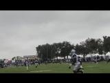 Byron Jones interception #CowboysCamp Day 3