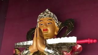 Буддийскский монастырь, Хунь Чунь, Китай (с игуменом Евмением)