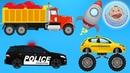 Машинки для детей - Все серии - Развивающие мультики про машинки
