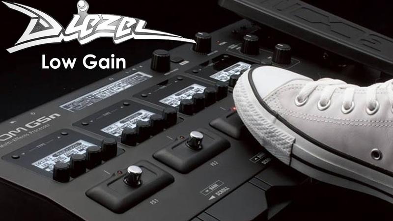 Zoom G5n - Diezel Low Gain