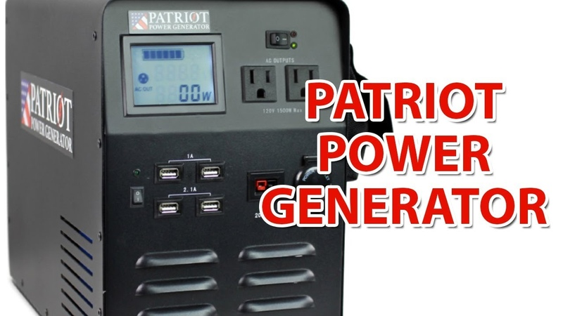 Patriot Power Generator 1500 Review | Learn About This Amazing Renewable Solar Generator