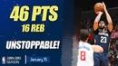 Anthony Davis UNSTOPPABLE Mix Highlights | 46 PTS 16 REB | NOLA vs LAC | 15.01.2019 | MH