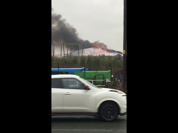 No casualties after large fire breaks out at Chester zoo