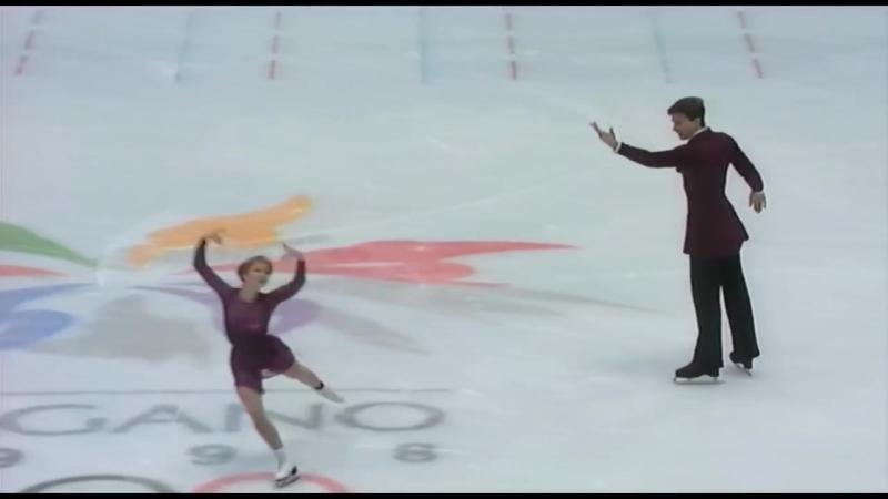 HD Berezhnaya Sikharulidze 1998 Nagano Olympics FS Елена Бережная и Ан