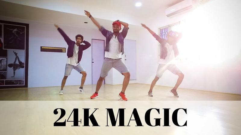 Bruno Mars - 24K Magic dance   Ravi Varma Choreography @brunomars 24kmagic