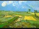 Винсент ван Гог Пшеничные поля и облачное небо 2018