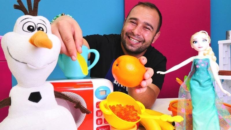 Yemek yapma oyunları. Çocuk videoları. Seçkin bölümler