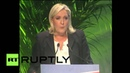 Italy: Le Pen and Salvini speak at Eurosceptic ENL party congress in Milan