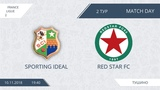 AFL18. France. Ligue 2. Group A. Day 2. Sporting ideal - Red Star FC.