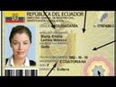 Виза по диплому в Эквадоре 2017