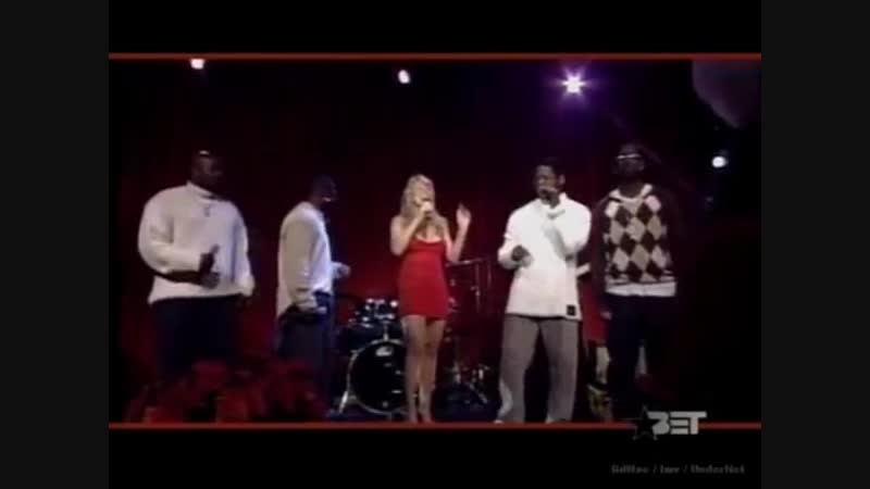 Mariah Carey Boyz II Men - One Sweet Day (live at BET Christmas Special)