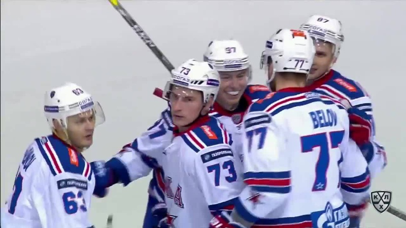 Моменты 2017/2018 • A sequence with lots of assists makes Evgeny Dadonov snipe one past Danny Taylor 05.10