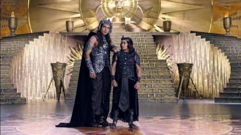 Шани и Раху против Нанди и Шивы