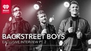 Backstreet Boys On Performance Jitters, Favorite Songs on DNA iHeartRadio Release Party