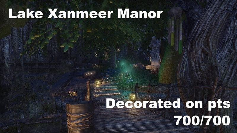 ESO Homestead - Lakemire Xanmeer Manor Decorated on pts