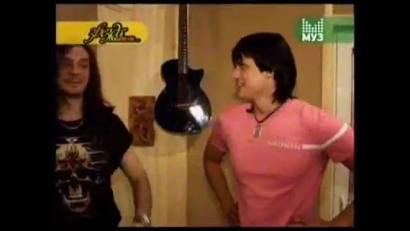 Dima Koldun on MUZ TV Russia -