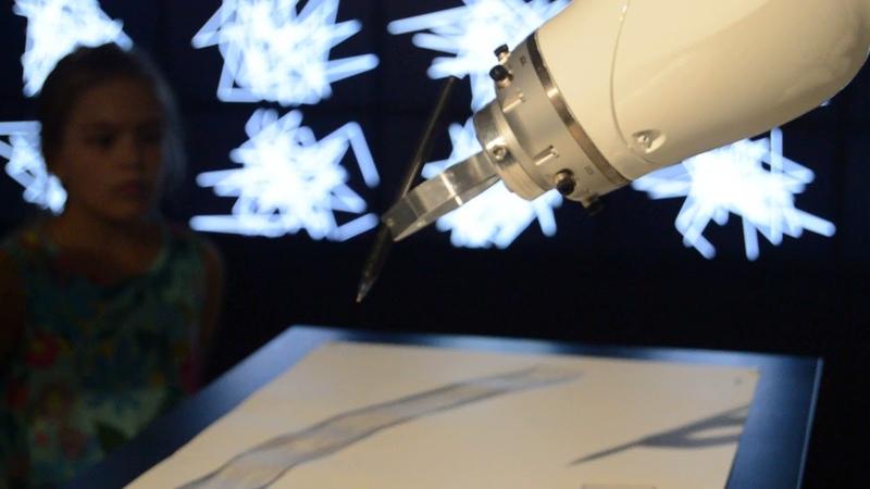 Искусственный интеллект (Выставка в Главном Штабе Гос.Эрмитаж) часть 1