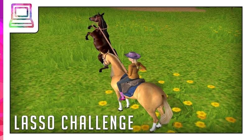 Barbie Horse Adventures - Wild Horse Rescue - Lasso Challenge (Minigame) (Horse Game)