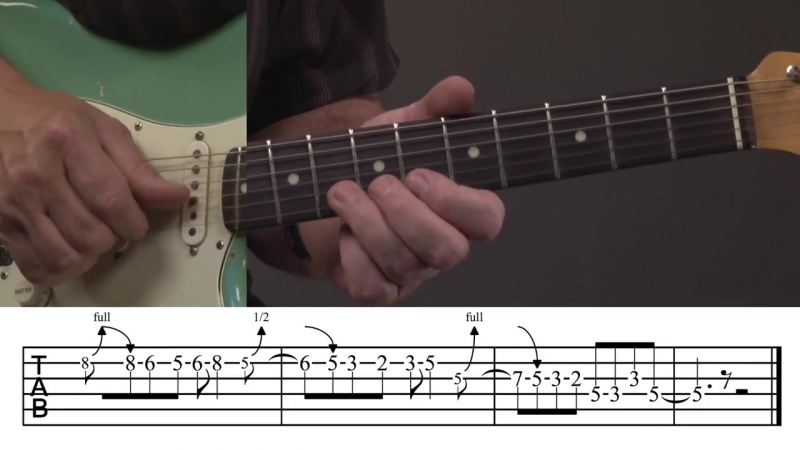 Jody Worrell - Steely Dan Guitar Lesson