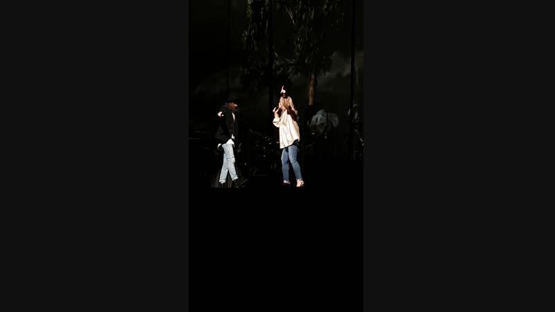 Lara Fabian et Félix Lemelin duo magique centre Vidéotron 14 octobre 2018