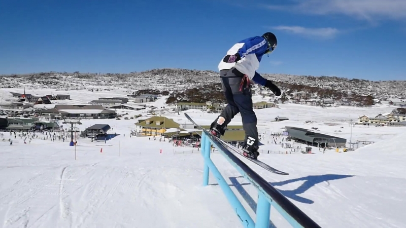 PERISHER PARK LAPS WITH MATTY COX, TROY STURROCK AND GLEN IRONSIDE.