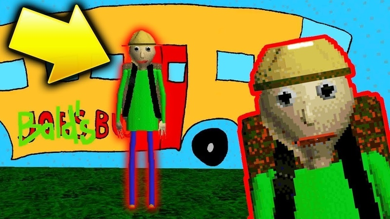 ИДЁМ В ПОХОД С БАЛДИ Baldi's Basics Field Trip