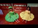 Vestido Corazón Barbie (Diestros)