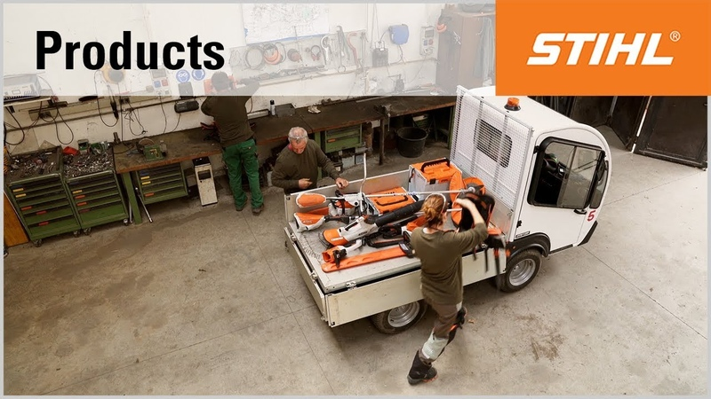 The STIHL PRO cordless power system