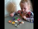 Шарики на тарелочках Игры на развитие памяти и внимания