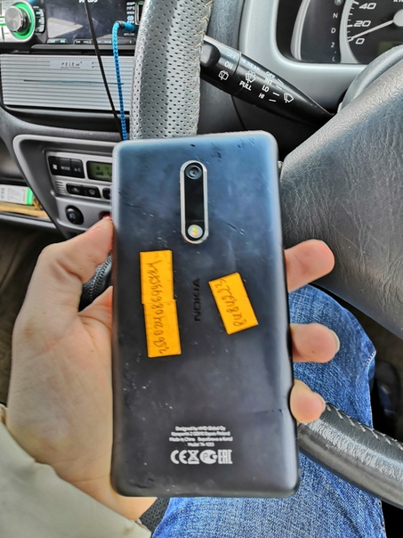 Найден телефон Nokia на парковке