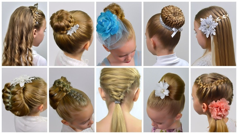 10 EASY Beautiful ELEGANT Hairstyles for PARTY Natural Hairstyles Collection Party hairstyles 11