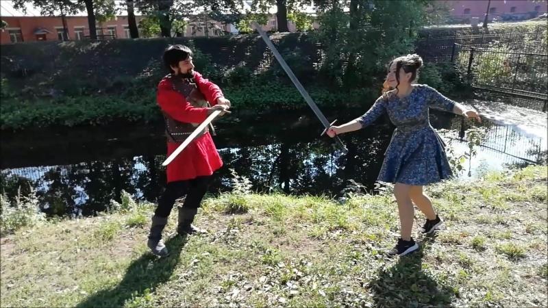 Битва льда и пламени, ой то есть принцессы и рыцаря