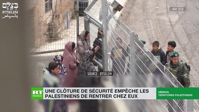 Une clôture de sécurité empêche les palestiniens de rentrer chez eux