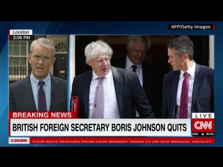 Boris Johnson's letter of resignation: 'The Brexit dream is dying'