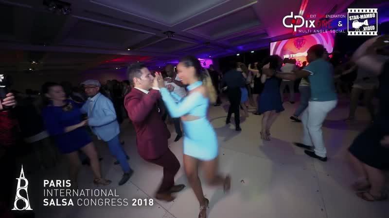 """Rodrigo Cortazar Bersy Cortez - social dancing @ PARIS INTL SALSA CONGRESS 2018""""},""""params"""" {""""allowscriptaccess"""" """"always"""