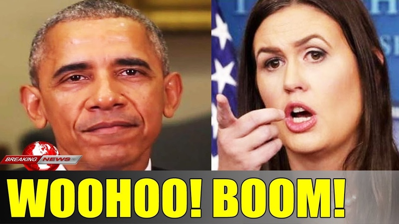 ENDS UP! Sarah Sanders LAUGHS RELEASES THIS ON LIVE TV After Mueller Report! IT'S TIME LOCK UP ALL